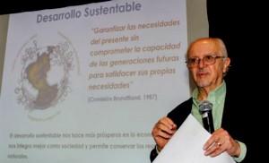 Revertir cambio climático costaría entre 1 y 2% del PIB mundial, afirmó el premio Nobel de Química Mario Molina