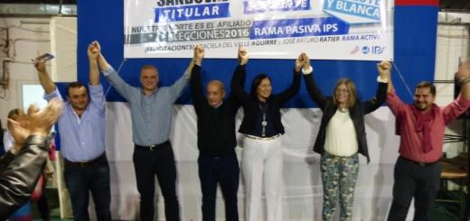 Elecciones IPS: La lista Celeste y Blanca propone seguir mejorando los servicios