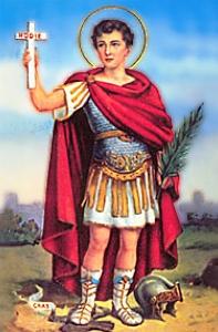 Mañana santa misa en honor a San Expedito