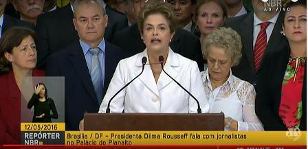 Suspendieron a Dilma y asume Temer como presidente