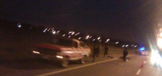 Una joven motociclista falleció tras un choque en acceso Sur