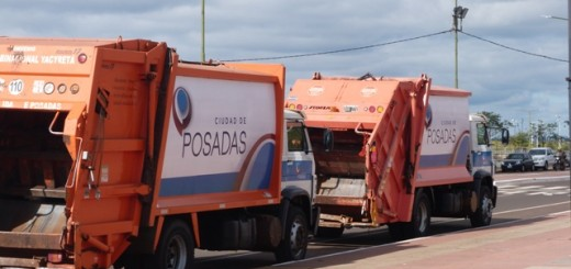 Para recolectar los residuos todos los días Posadas destina 400 mil pesos más por mes