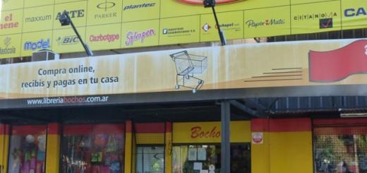 La histórica librería Bochos en la lista de comercios que cerrarían por la crisis