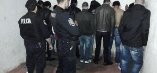 San Vicente: Trece detenidos y tres motos secuestradas