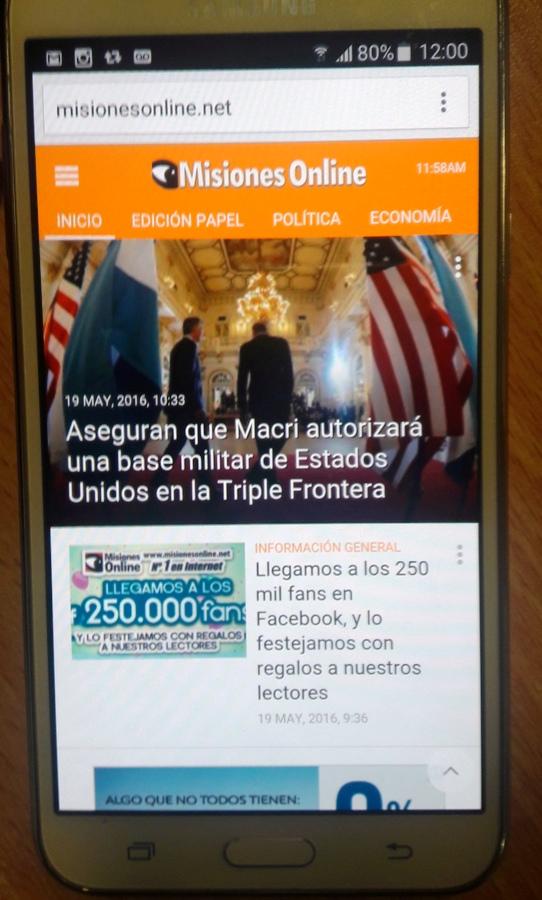 Los argentinos pasan más tiempo en el smartphone que en el ordenador