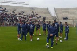 Sin Messi, la selección se despidió del público argentino con una práctica a puertas abiertas