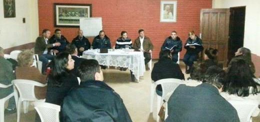 Se concretaron otras cinco reuniones entre el Ministerio de Gobierno, la Policía y Foros de Seguridad
