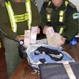 Valijeros: interceptaron otro traslado de dinero de origen desconocido en Posadas