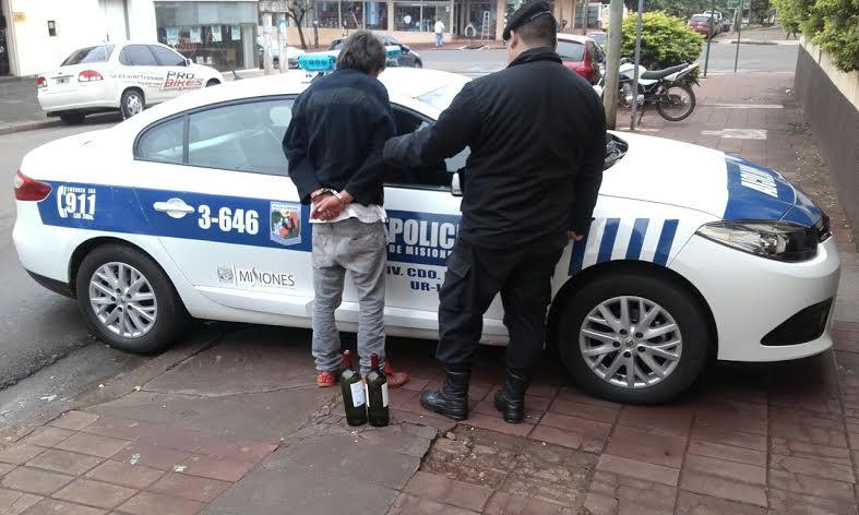 Posadas: lo detuvieron tras ocasionar disturbios en la vía pública