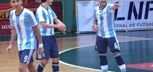 Futsal: Argentina se metió en semifinales del Sudamericano Sub 17 que se juega en Foz de Iguazú