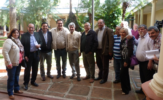 Passalacqua reunió a gremios y abrió un canal de diálogo