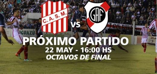 Guaraní espera en Tucumán el duelo de mañana a las 16 ante San Martín por el pase a cuartos