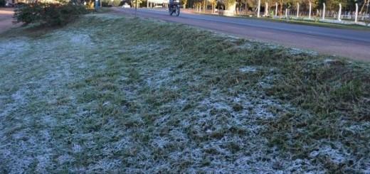 Se produjeron heladas en la zona centro y se espera más frío para el martes