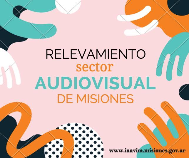 Continúa la encuesta online para trabajadores del sector audiovisual misionero