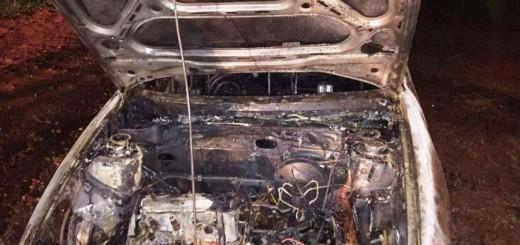 Incendiaron el auto de un policía en Posadas