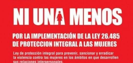 En Posadas también marcharán bajo el lema #NiUnaMenos
