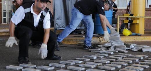 Cuatro años y medio de cárcel para un paraguayo que cayó con 107 kilos de droga en el puente