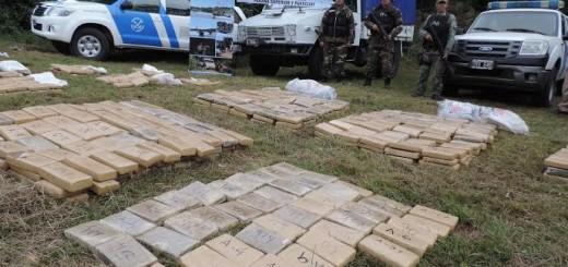 Incineraron casi dos toneladas de marihuana en Corrientes