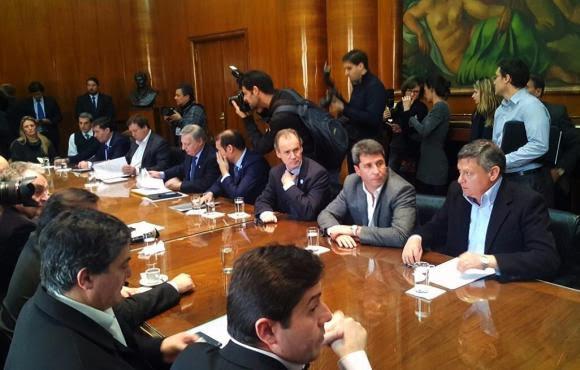 Aranguren y Frigerio se reunieron con representantes de las provincias por la energía