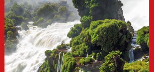 Las Cataratas del Iguazú son la portada de la primera guía danesa para hacer turismo en Argentina