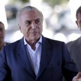 Michel Temer asumió como presidente de Brasil