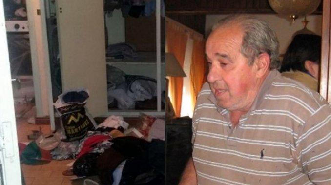 Violento asalto a una pareja: les pusieron un arma en la cabeza para robarles un kilo de carne, tortas fritas y una torta