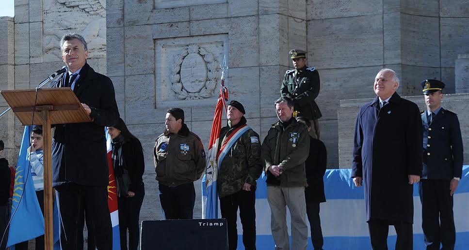 El presidente Macri llamó a sellar un «compromiso definitivo hacia una Argentina que incluya a todos»