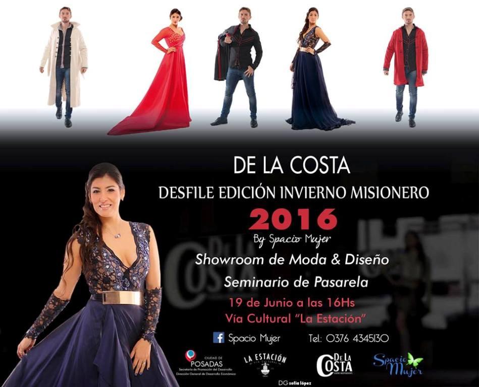 Vuelve el desfile de moda «De la Costa» para mostrar las tendencias de la temporada otoño-invierno