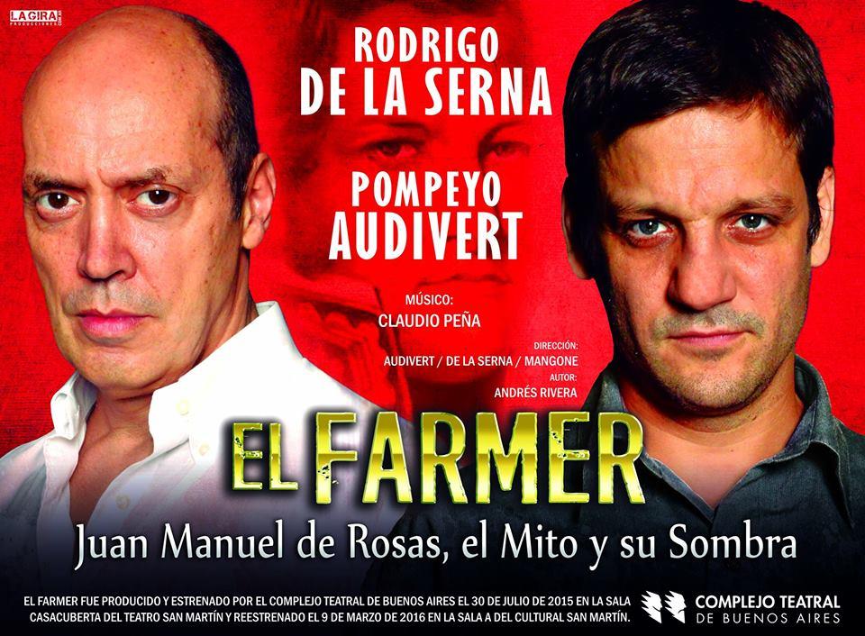 """Con Rodrigo de la Serna, """"El Farmer"""" se presentará en Posadas y Misiones OnLine sortea entradas"""