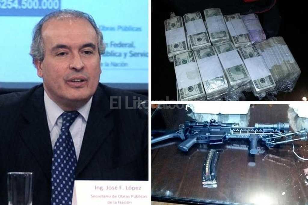 Detuvieron al ex secretario de De Vido mientras enterraba 8 millones de dólares