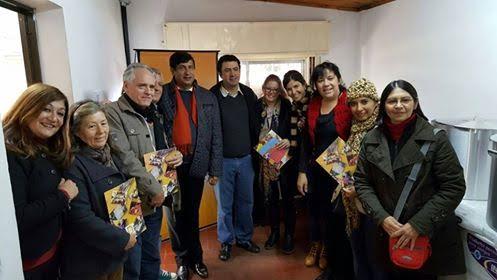 Entrega de equipamientos y electrodomésticos de cocinas a Hogares Convivenciales de la provincia