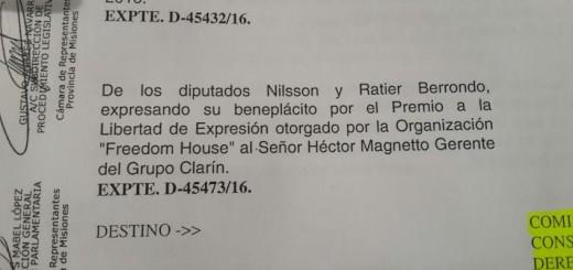 Polémica en la Legislatura por un homenaje a Héctor Magnetto, el CEO de Clarín