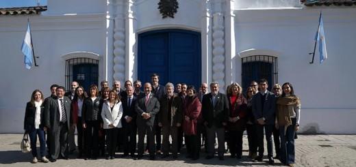 Bullrich, Manzur y los ministros de Educación de todo el país visitaron la Casa de Tucumán