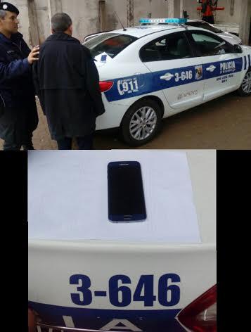 Posadas: sustrajo un celular y fue detenido