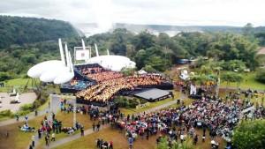 El cierre del Iguazú en Concierto se transmitirá hoy por la Tv Pública y se verá en la pantalla de la Costanera de Posadas