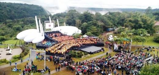 El gran cierre del cierre del Iguazú en Concierto se transmitirá este sábado por la Tv Pública