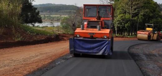 Ruta provincial N°221: el asfalto llegó a la frontera