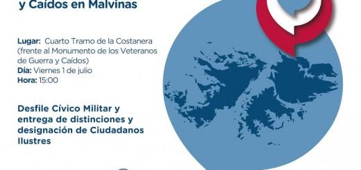 La Municipalidad de Posadas homenajeará a ex combatientes de Malvinas