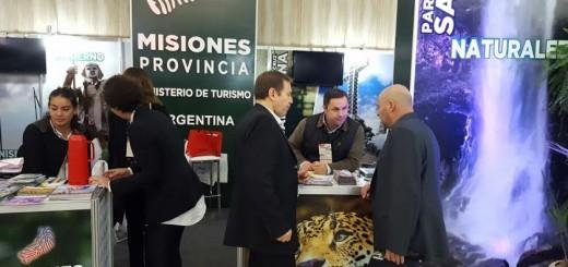 Posadas presente en la Feria de Turismo de las Cataratas en Brasil