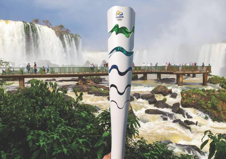 Mañana la antorcha olímpica estará frente a Misiones y el viernes llegará a Cataratas del Iguazú