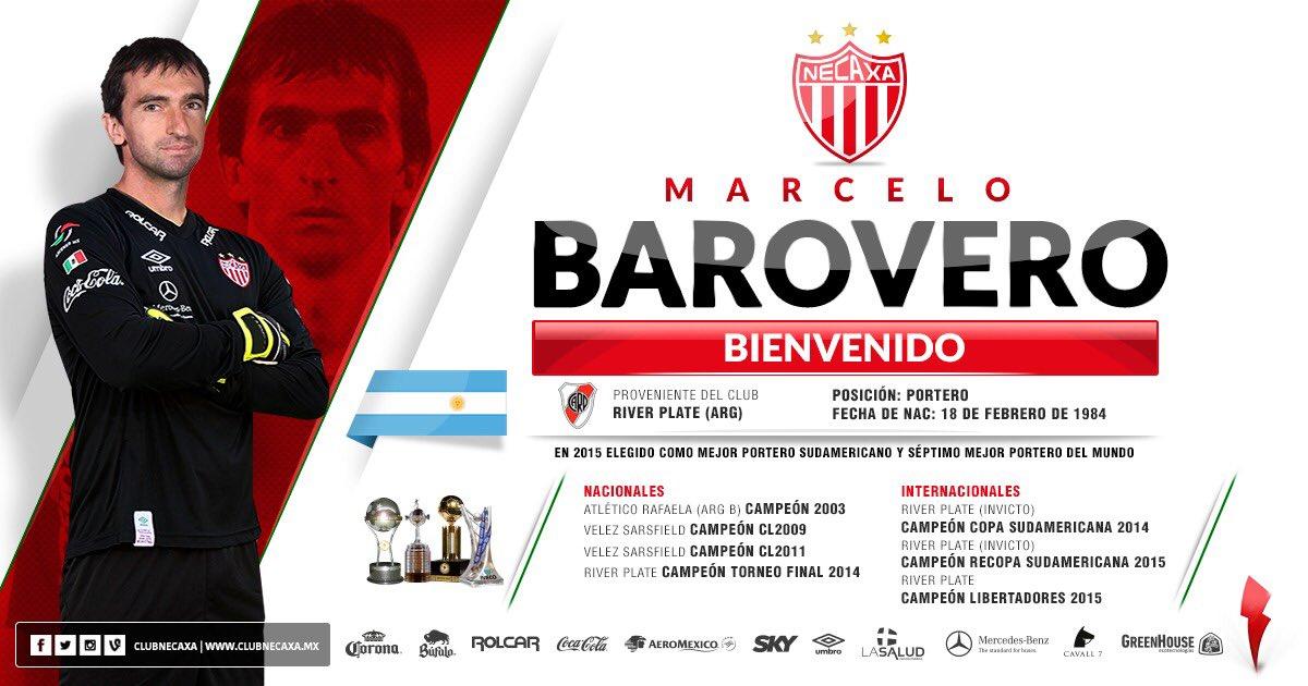 Confirmado: Barovero ya conoce su próximo equipo