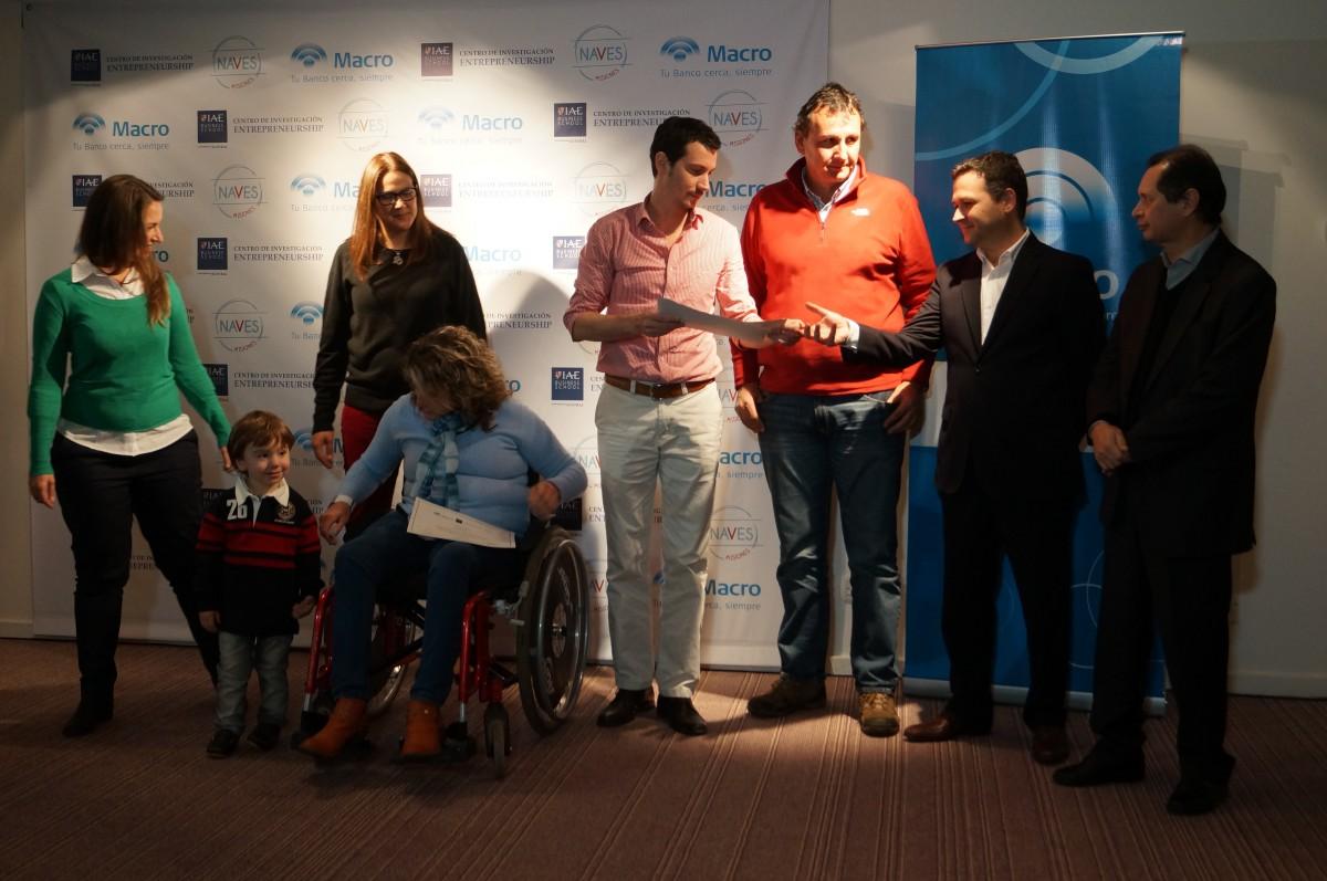 Emprendedor de General Alvear se llevó el primer premio del concurso Naves 2016
