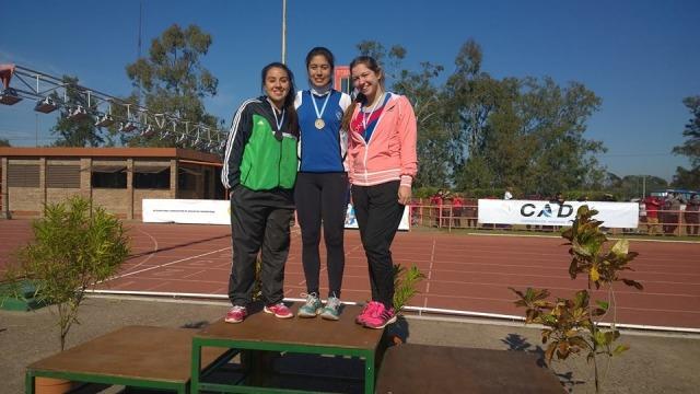Atletismo: La misionera Abril Caso se subió al podio en la copa Nacional de clubes disputada en Santa Fe