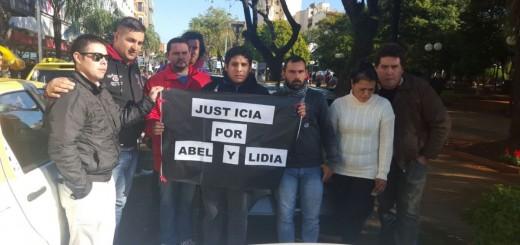 Tragedia de la avenida Centenario: taxistas y remiseros pidieron justicia por las víctimas