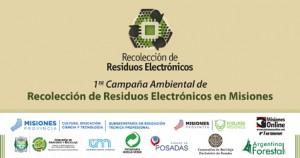 La UNaM tendrá una activa participación en la campaña ambiental de concientización de residuos electrónicos