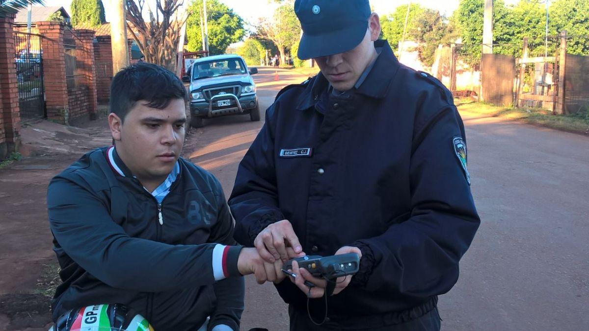 Utilizan el BioSystem en controles y operativos hechos en Puerto Iguazú