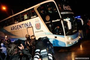 La Selección llegó a Buenos Aires tras perder la final de la Copa América Centenario