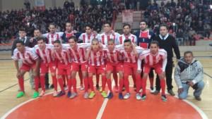 En Eldorado, el local enfrenta a Formosa en la final del Torneo nacional de Futsal