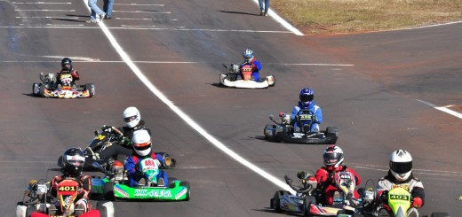 Gran espectáculo del karting misionero en Posadas