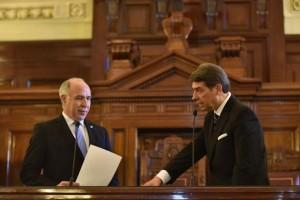 Horacio Rosatti juró como ministro en la Corte